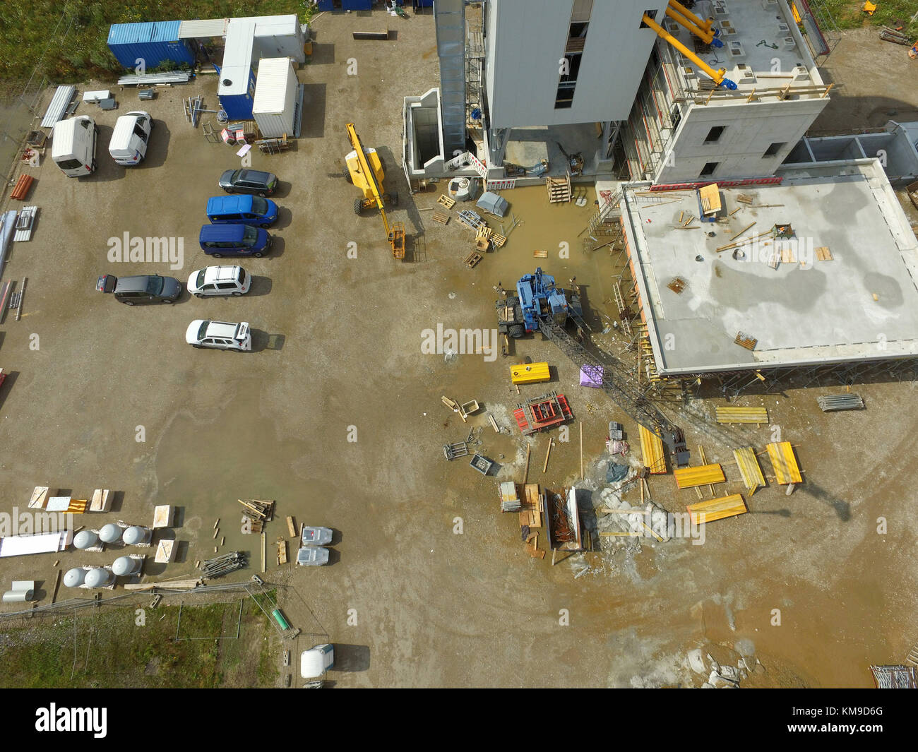 Industrial park aerial stock photos industrial park for Andalusia ford motor company