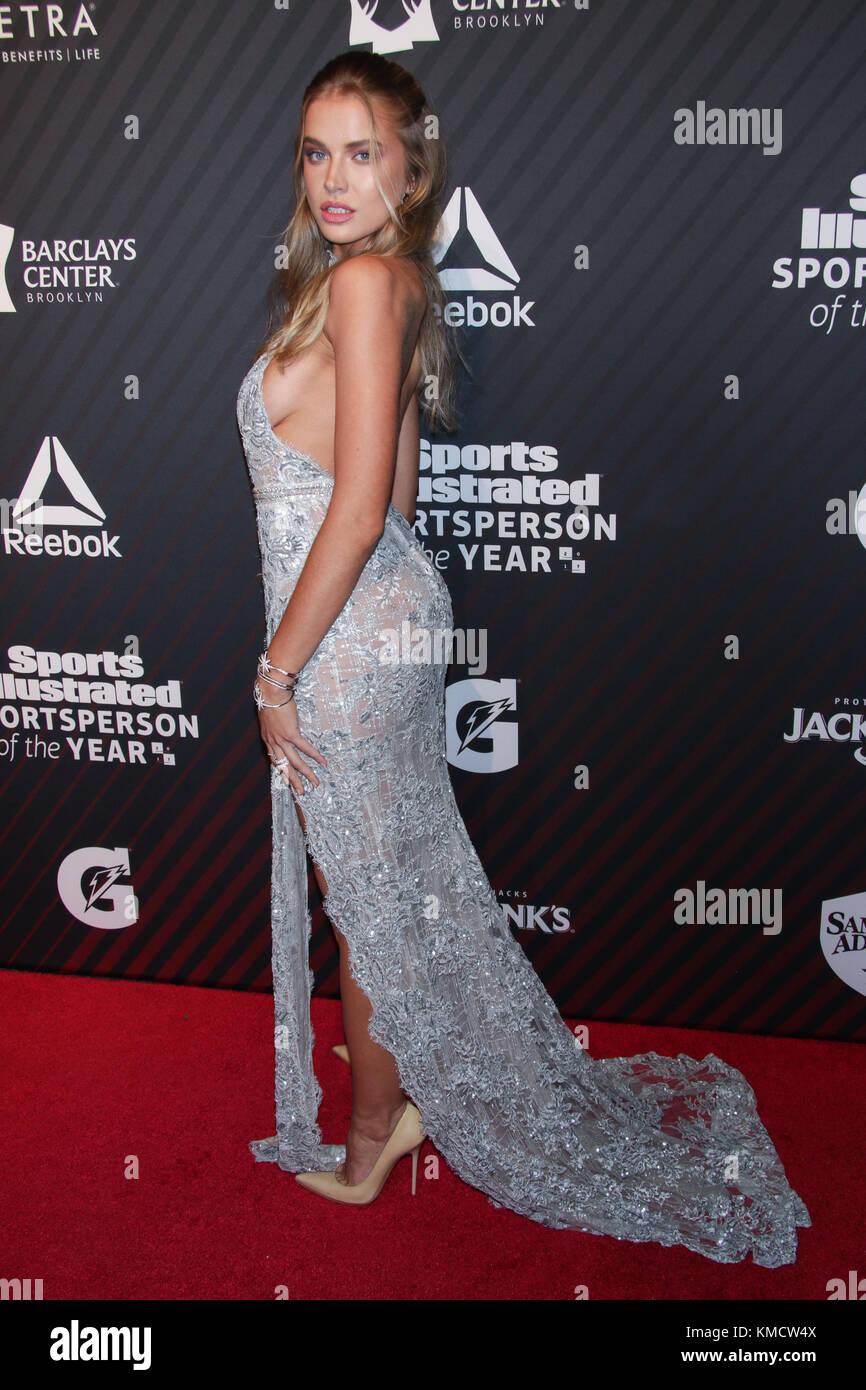 New York, NY, USA. 5th Dec, 2017. Tanya Mityushina at the 2017 Sports Illustrated Sportsperson Of The Year Awards - Stock Image