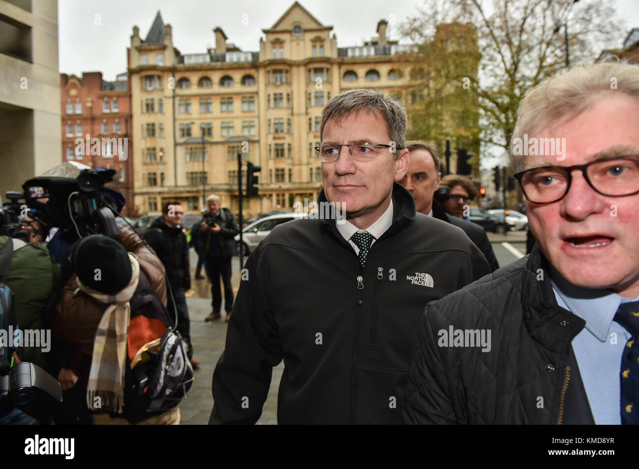 London, United Kingdom. 7th December 2017. Assistant Chief Constable Marcus Beale, attached to West Midlands Police, - Stock Image
