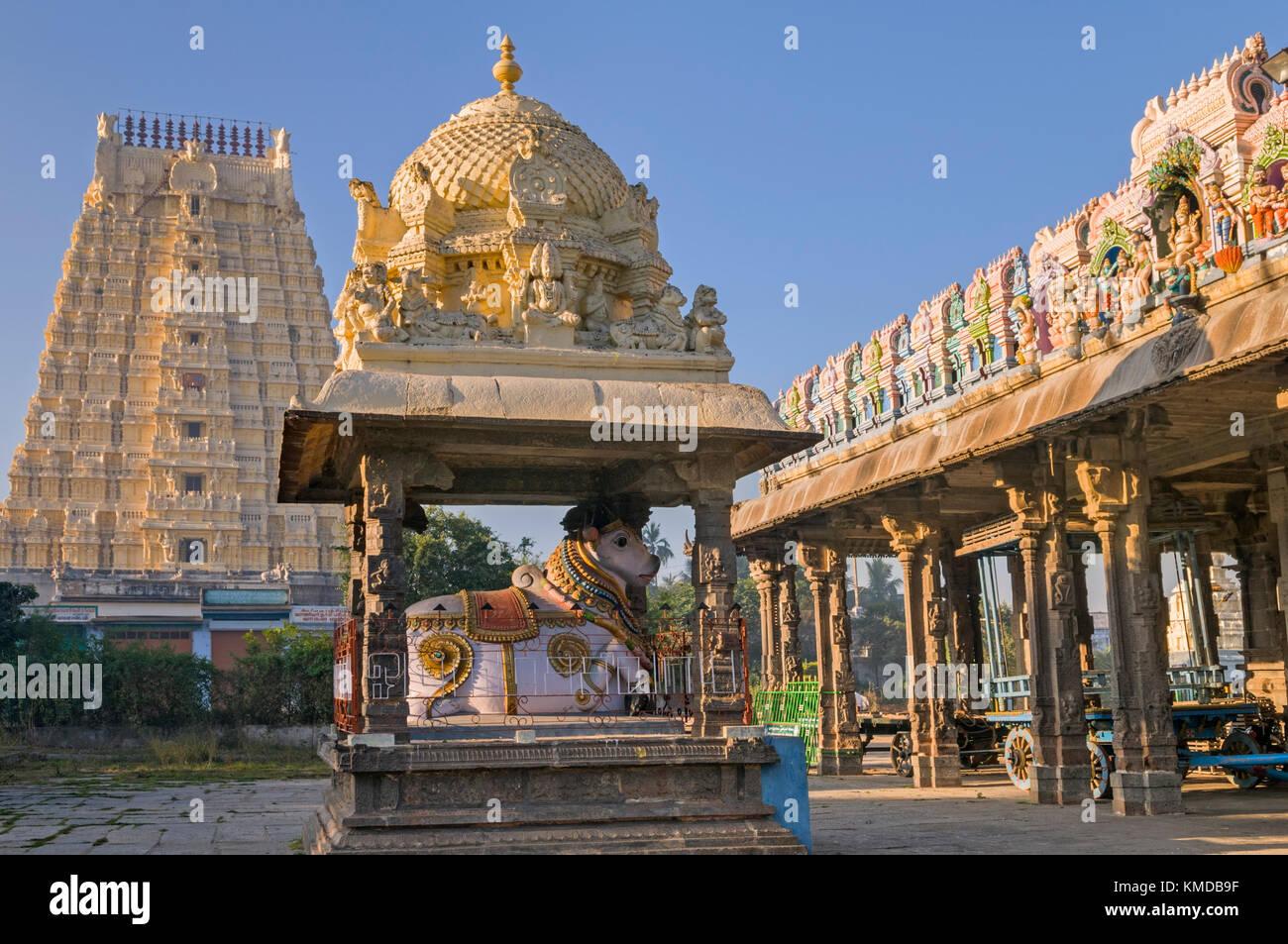 Ekambareshwara Temple Kanchipuram Tamil Nadu India - Stock Image