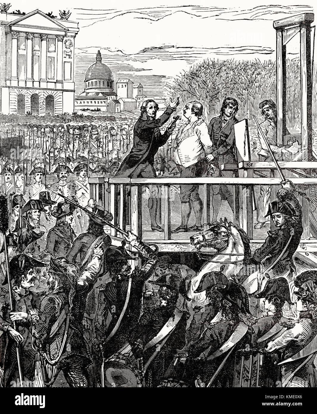 why louis xvi was executed in Louis xvi was executed, officially, because of treason he had been accused of betraying the french nation to the austrians now, in fairness, louis xvi had pretty clearly tried to flee paris in order to organize a counter-revolution.