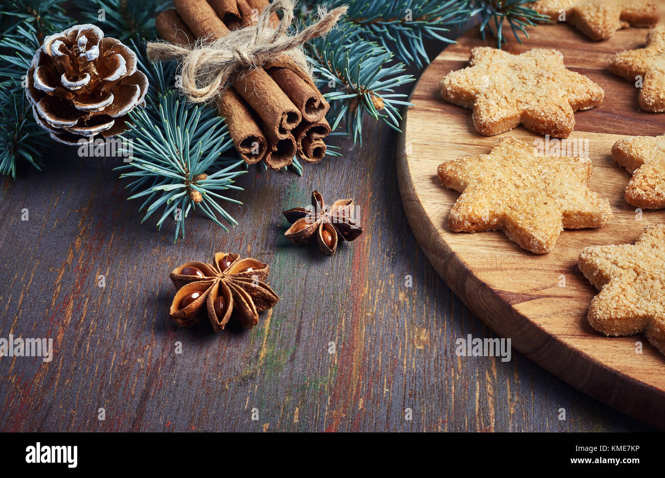 Anis wooden stock photos anis wooden stock images alamy for Chocolate gingerbread twigs