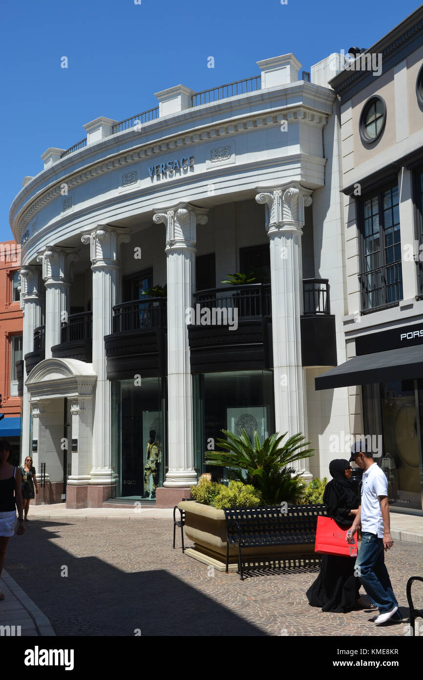 Rodeo Drive Beverly Hills Ca Stock Photos Amp Rodeo Drive