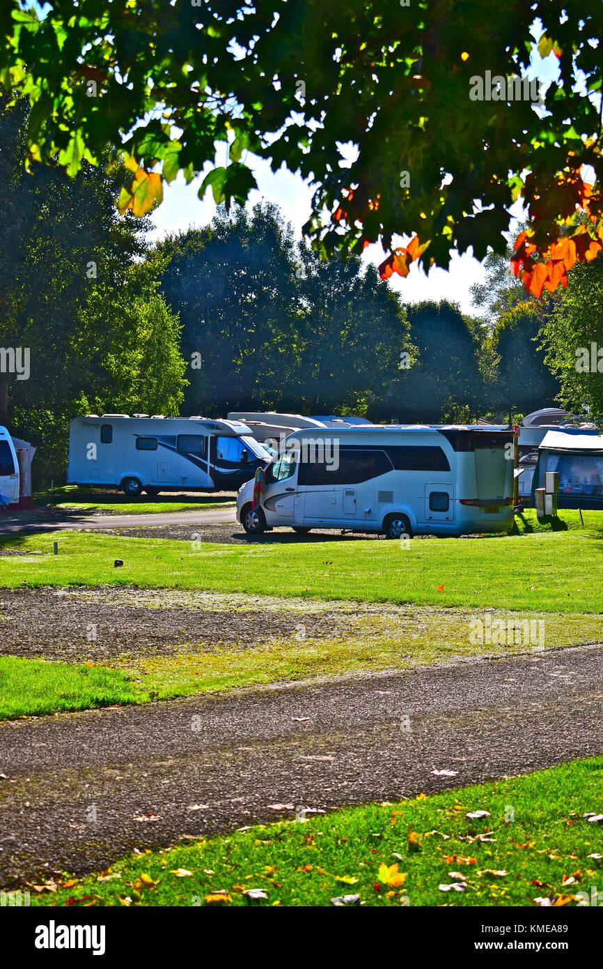 Caravan park caravan stock photos caravan park caravan for National motor club compensation plan