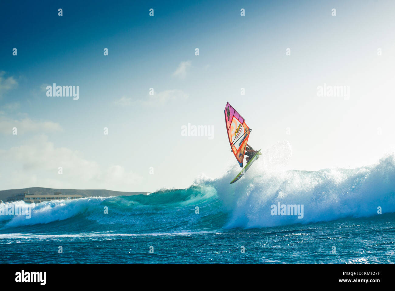 Windsurfing In The Canary Islands October