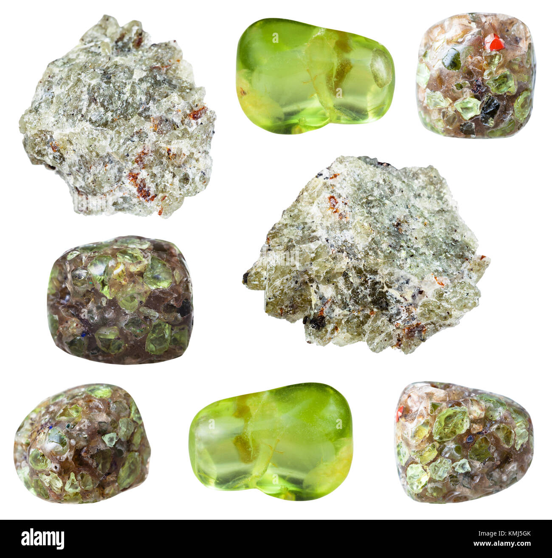 Polished Olivine Basalt : Olivine stock photos images alamy