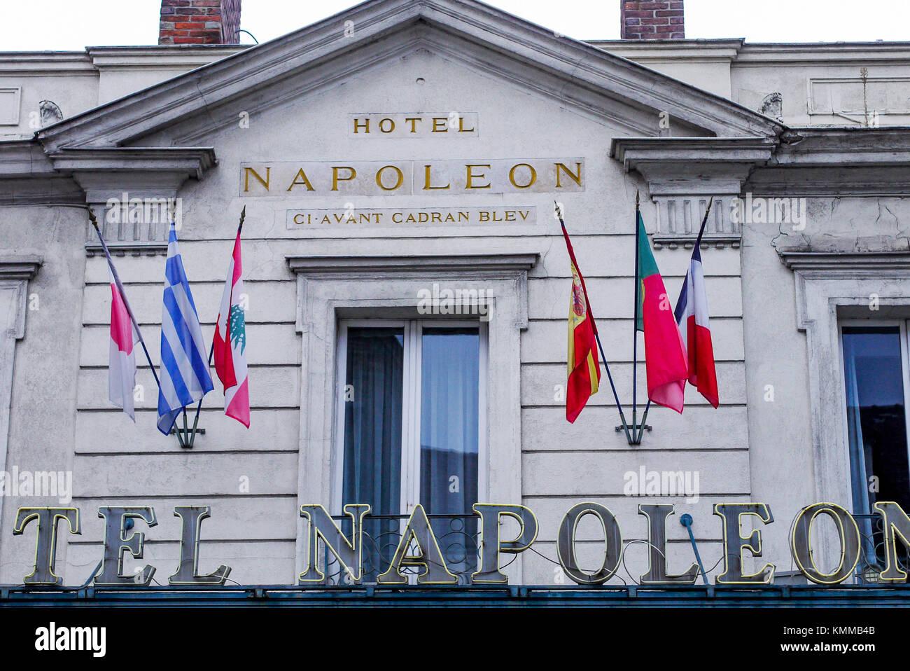 hotel napoleon stock photos hotel napoleon stock images. Black Bedroom Furniture Sets. Home Design Ideas