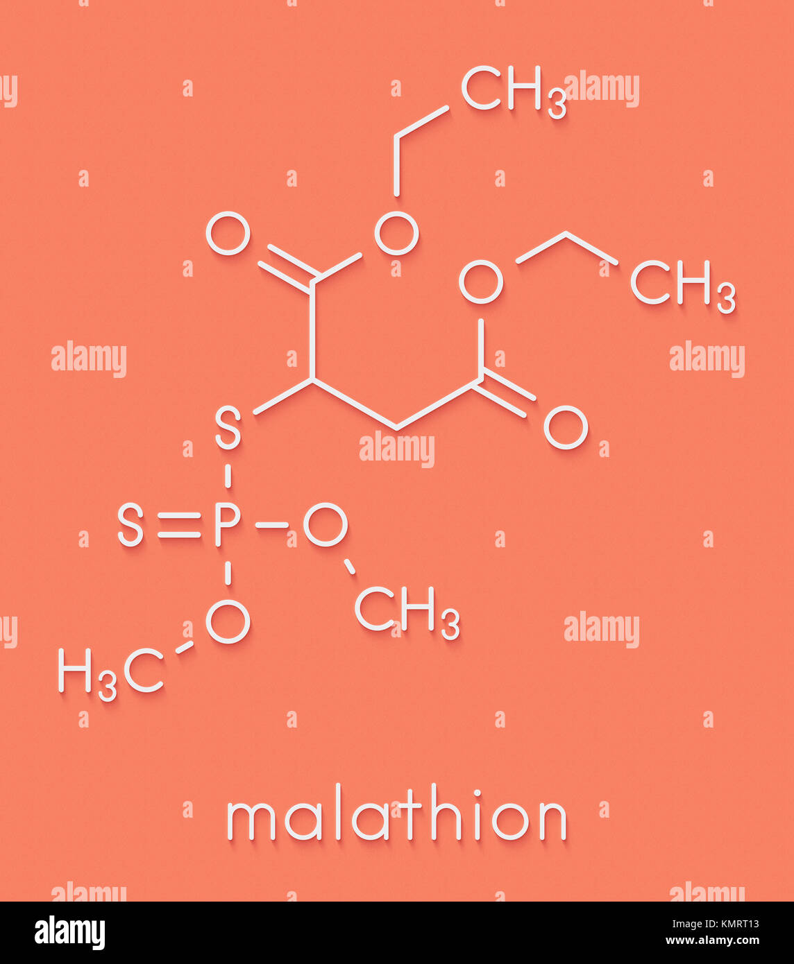 Malathion an organ osphate insecticide