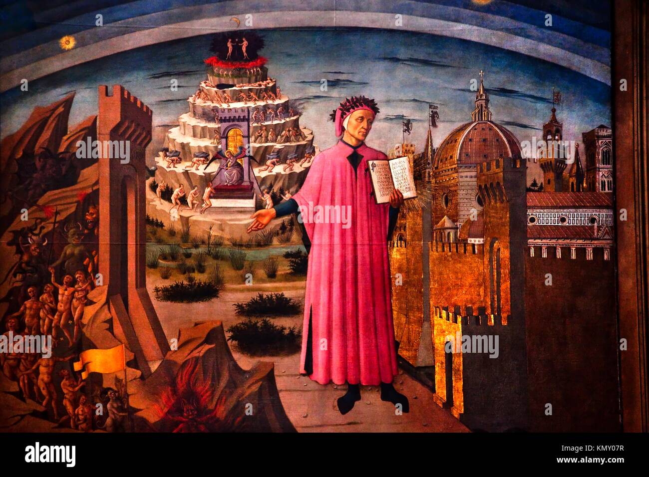divine comedy and dante The divine comedy is a long narrative poem by dante alighieri, begun c 1308  and completed in 1320, a year before his death in 1321 it is widely considered to .