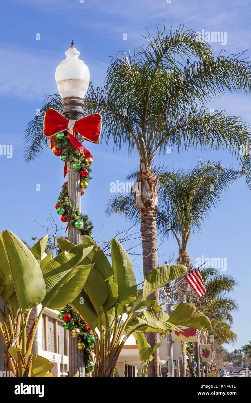 Christmas Palm Tree Stock Photos Amp Christmas Palm Tree
