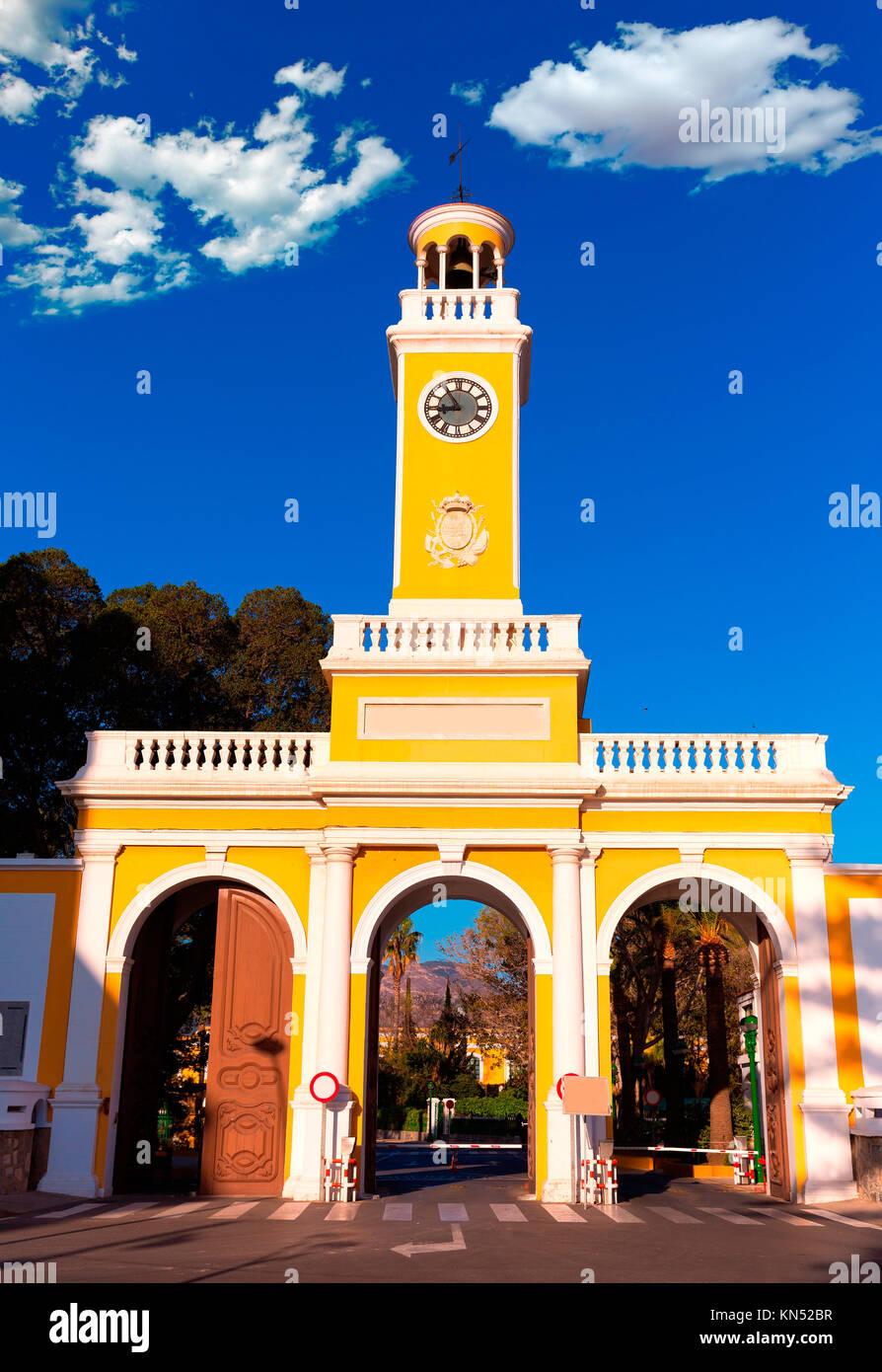 Arsenal of Cartagena Murcia XVIII century in Spain. - Stock Image