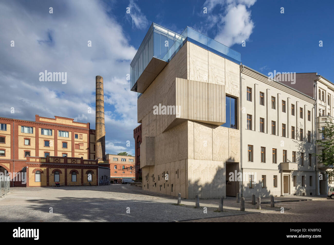 Tchoban foundation, Museum for architectural drawing, Prenzlauer Berg, Berlin - Stock Image