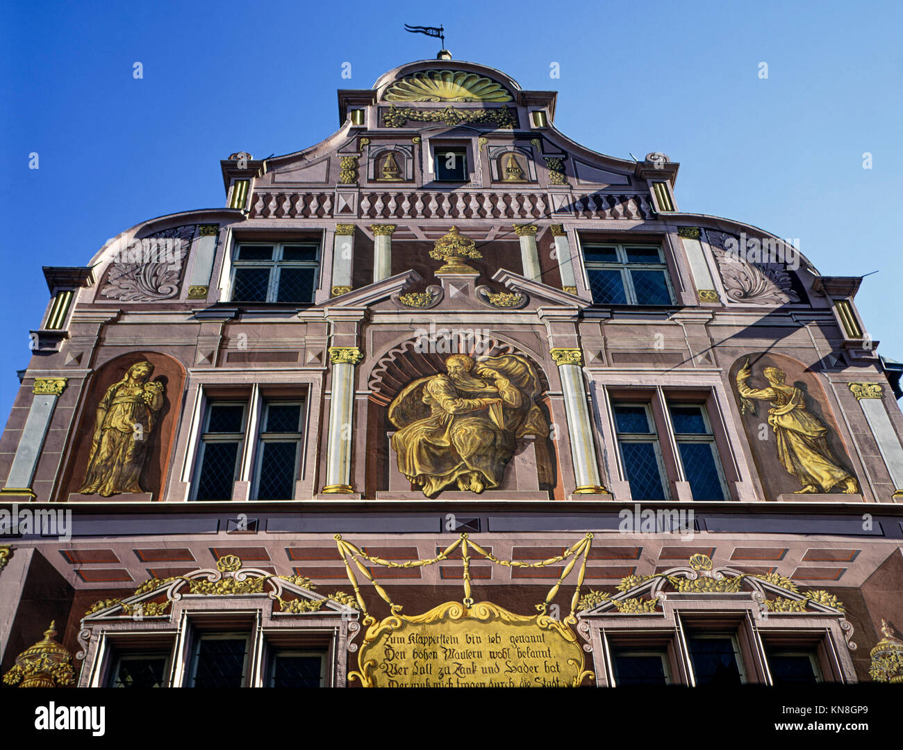 Hotel de Ville, City Hall building , Mulhouse , Alsace , France, - Stock Image