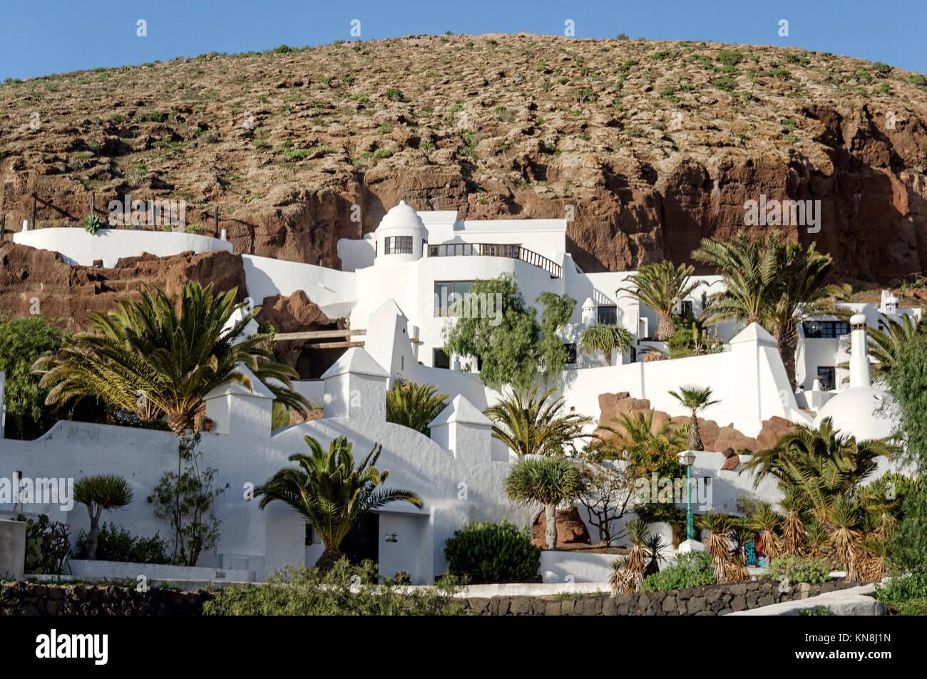 Lagomar House Museum Nazaret , Casa Sharif Omar , Lanzarote - Stock Image