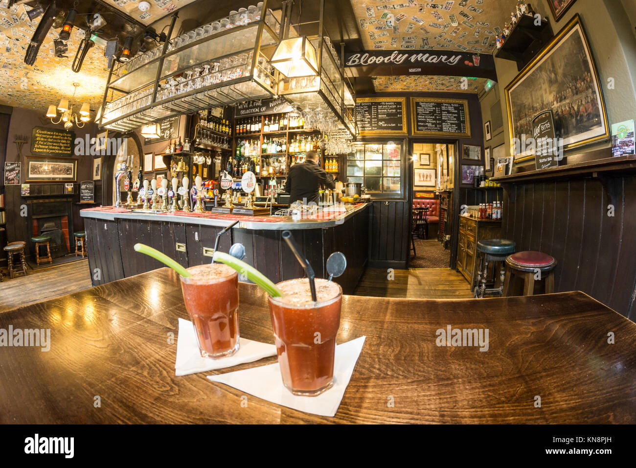 Bloody Mary , The Grenadier Pub, built in 1720, Mayfair, London, UK - Stock Image