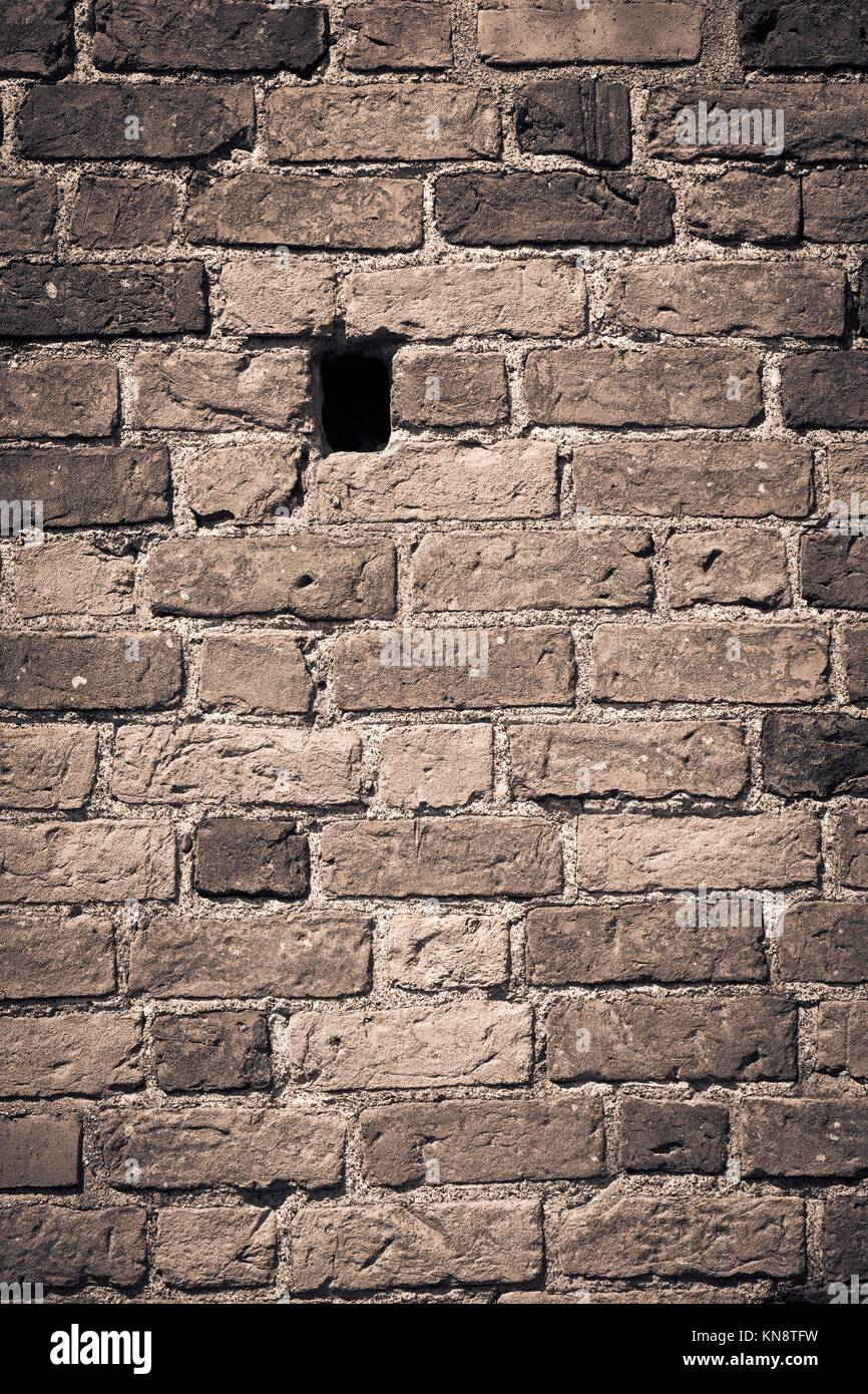 Brick Wall Hole Stock Photos Amp Brick Wall Hole Stock