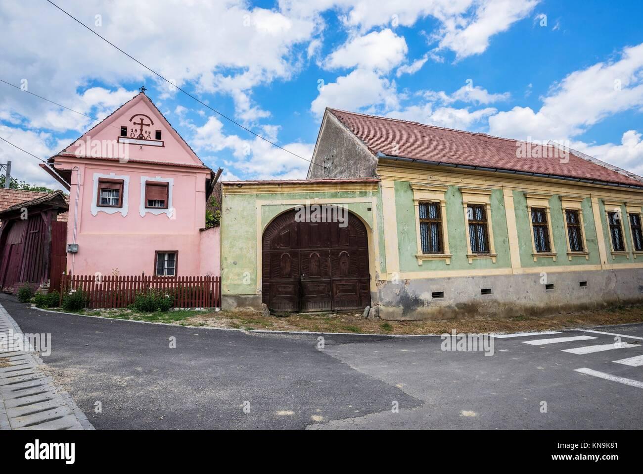 Old wooden rustic house romania stock photos old wooden rustic house romania stock images alamy - Saxon style houses in transylvania ...