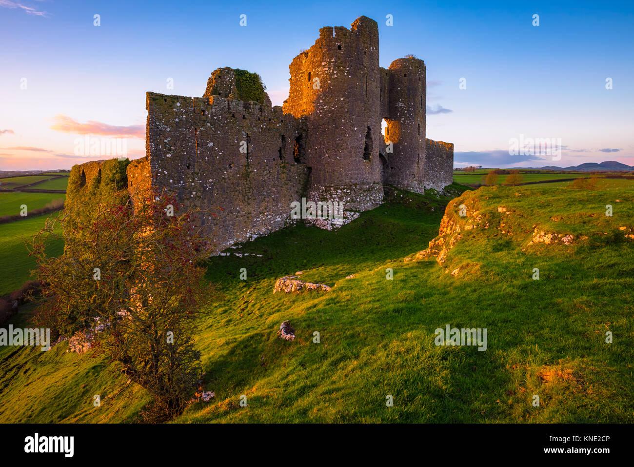 Castle Roche in Ireland - Stock Image