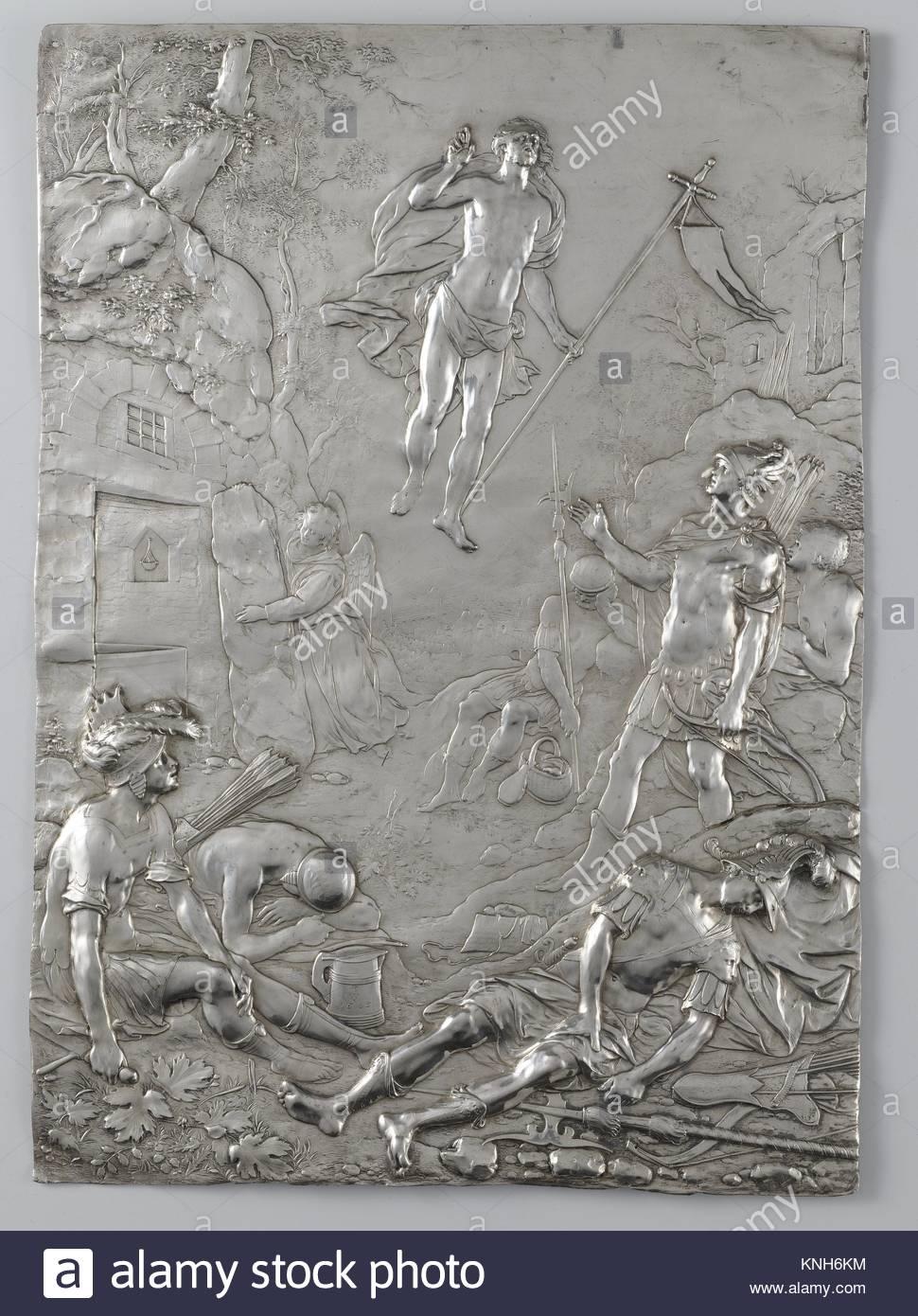 The Resurrection of Christ Paulus Willemsz. van Vianen, 1605 - Stock Image
