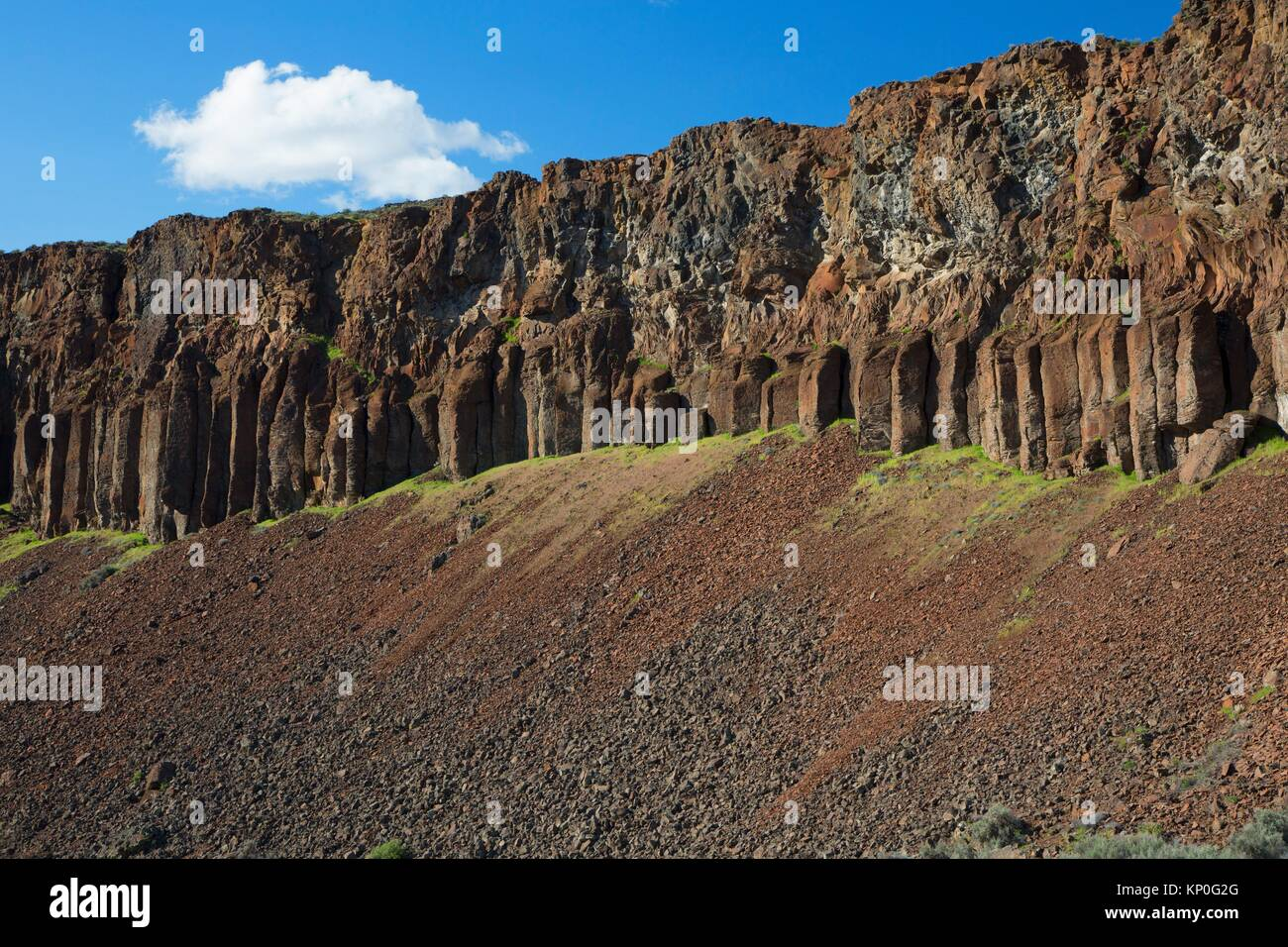 Basalt Stone Umpqua National Forest : Columnar stock photos images alamy