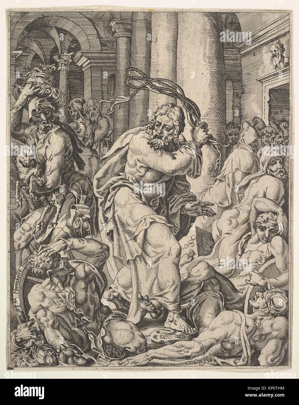 greco jesus chassant les marchands du temple