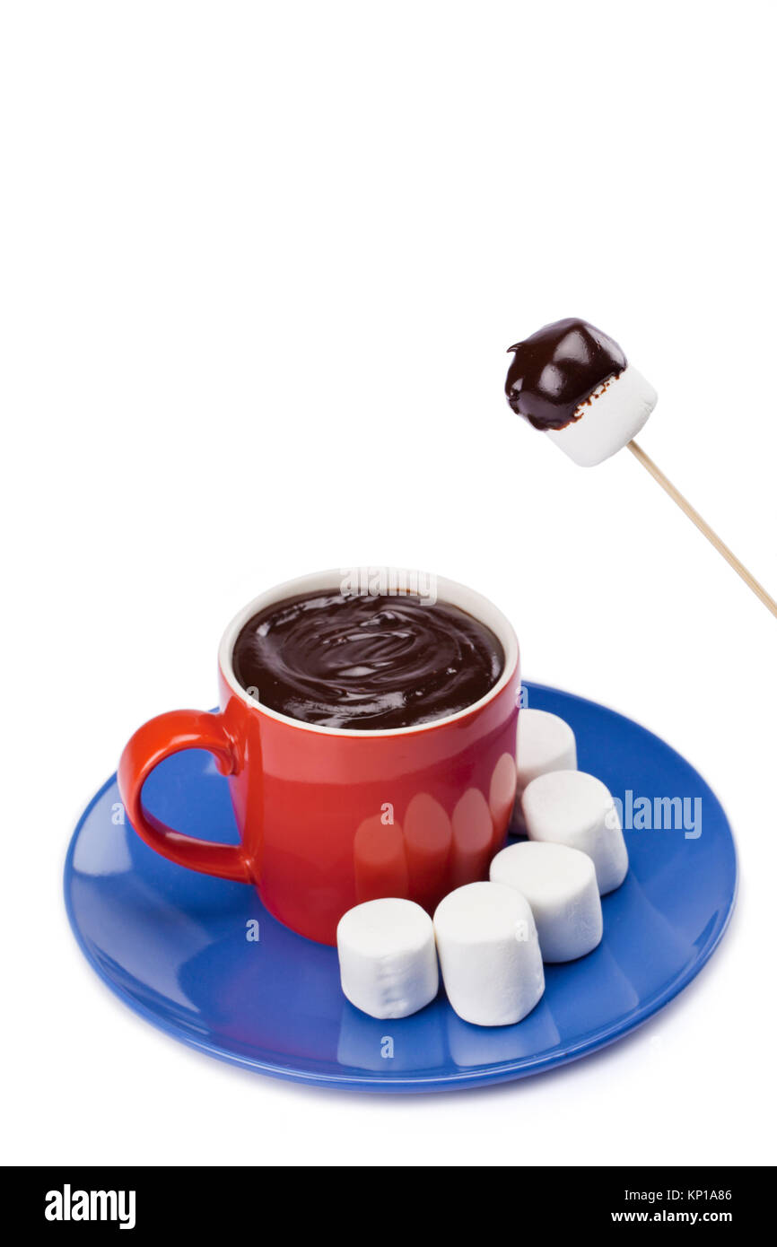 how to make chocolate coated marshmallows