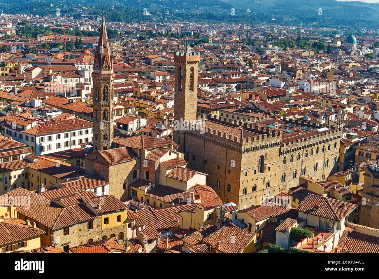 Cityscape of Florence, Italy - Stock Image