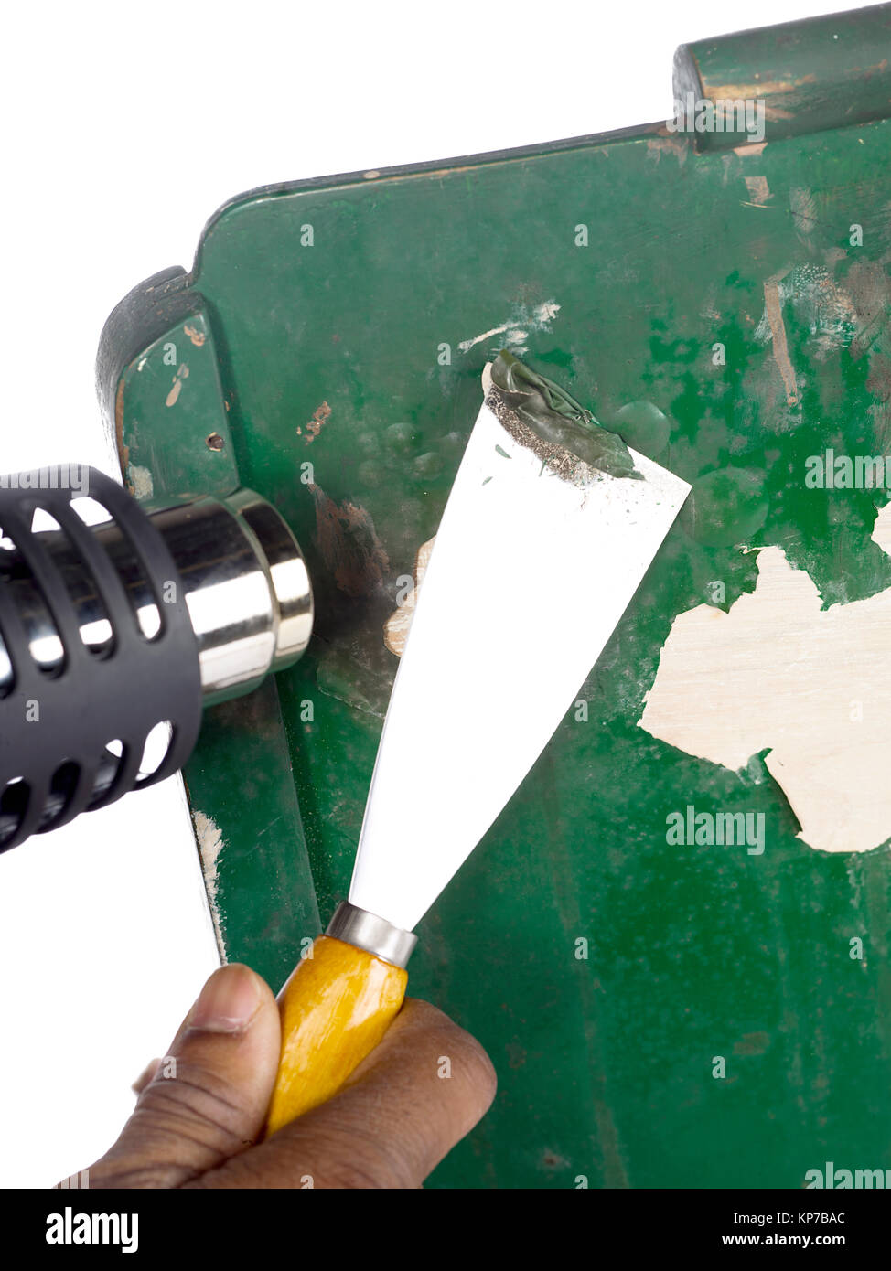 Paint stripper stock photos paint stripper stock images for Heat gun to remove paint