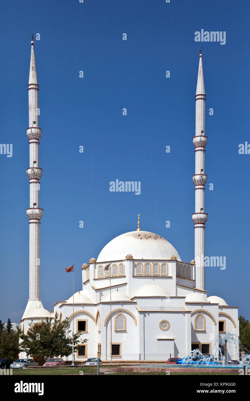 A Mosque in Famagusta (Gazimagusa) in the Turkish Republic of Northern Cyprus. - Stock Image