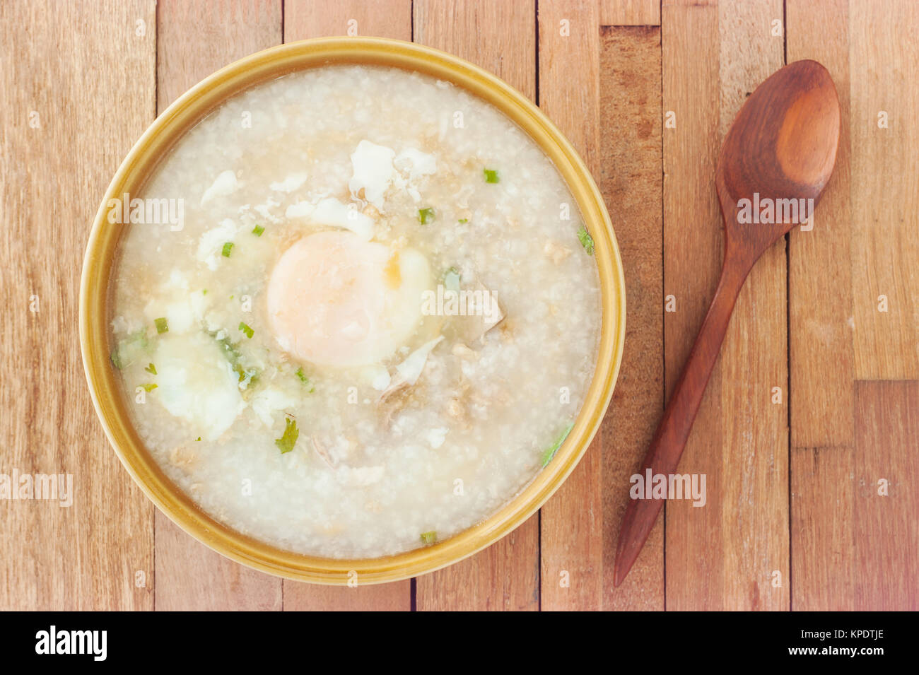 Traditional Chinese Food Rice Bowl With Vegetables And Egg