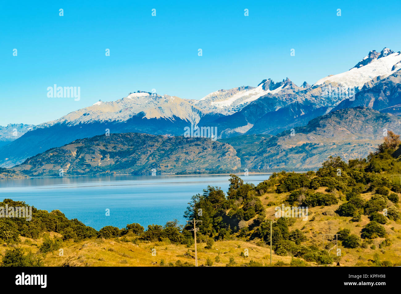 Andean Lake District Chile Stock Photos & Andean Lake ...