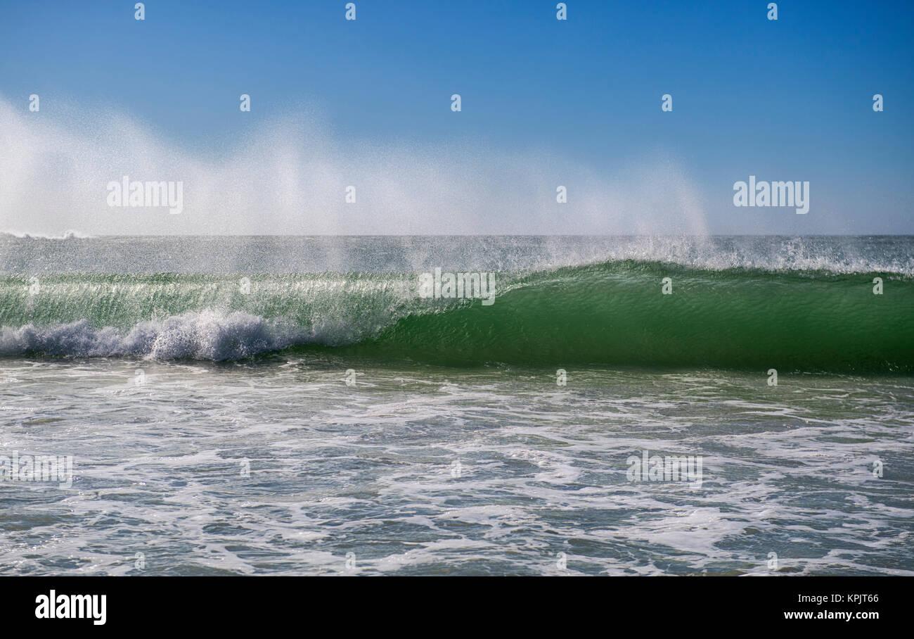 Atlantic Ocean near Cape Town, South Africa - Stock Image