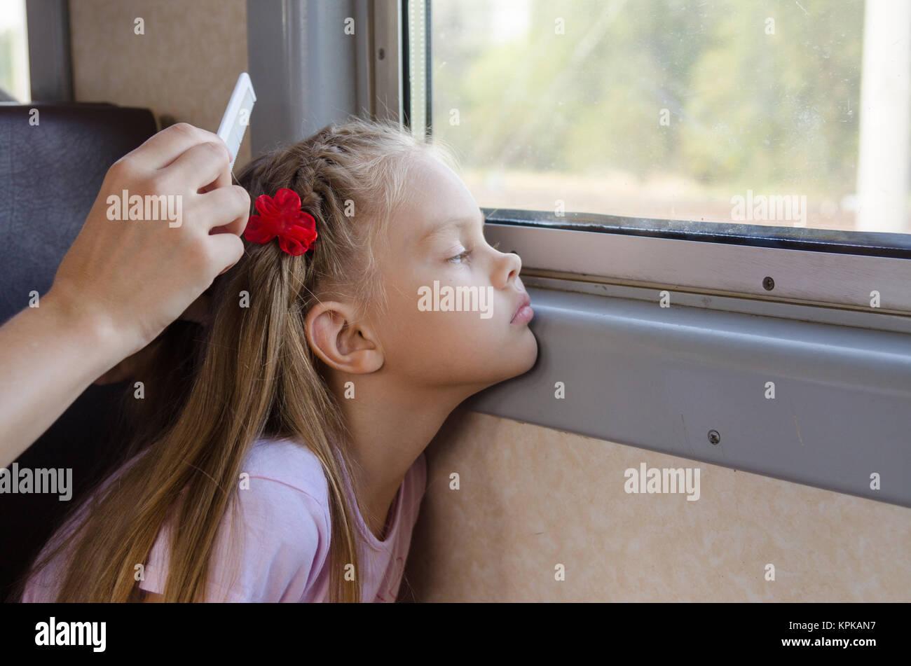 Картинки причесок в поезд