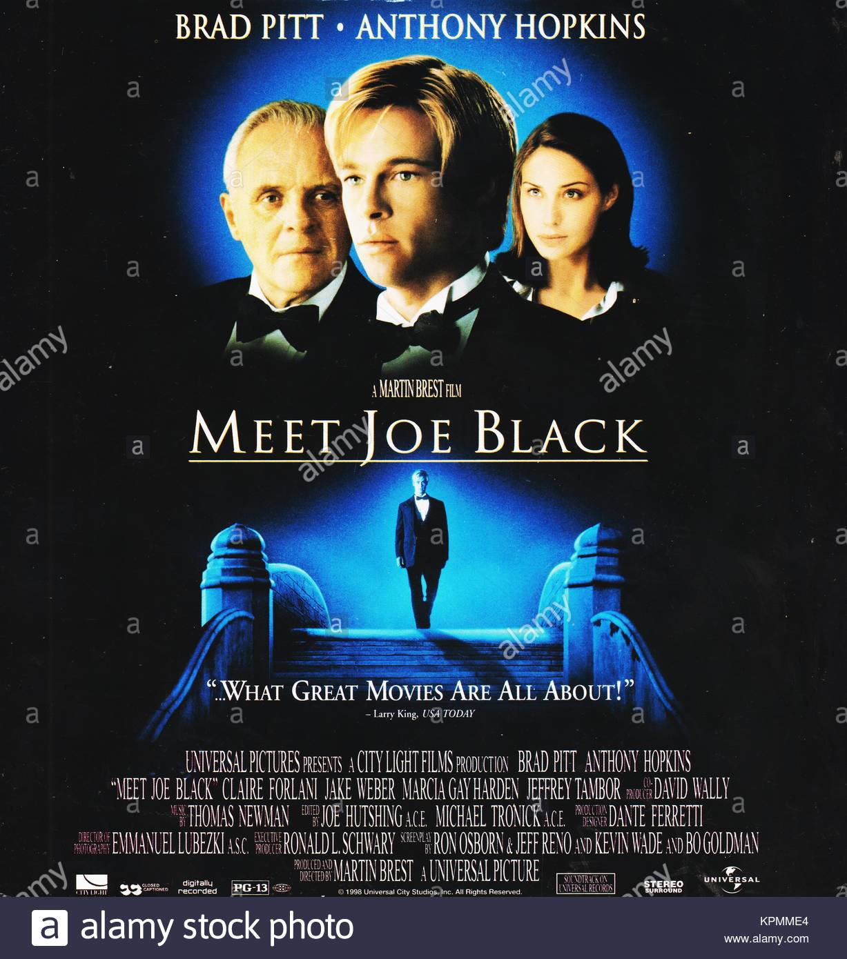 meet joe black death and taxes scenery