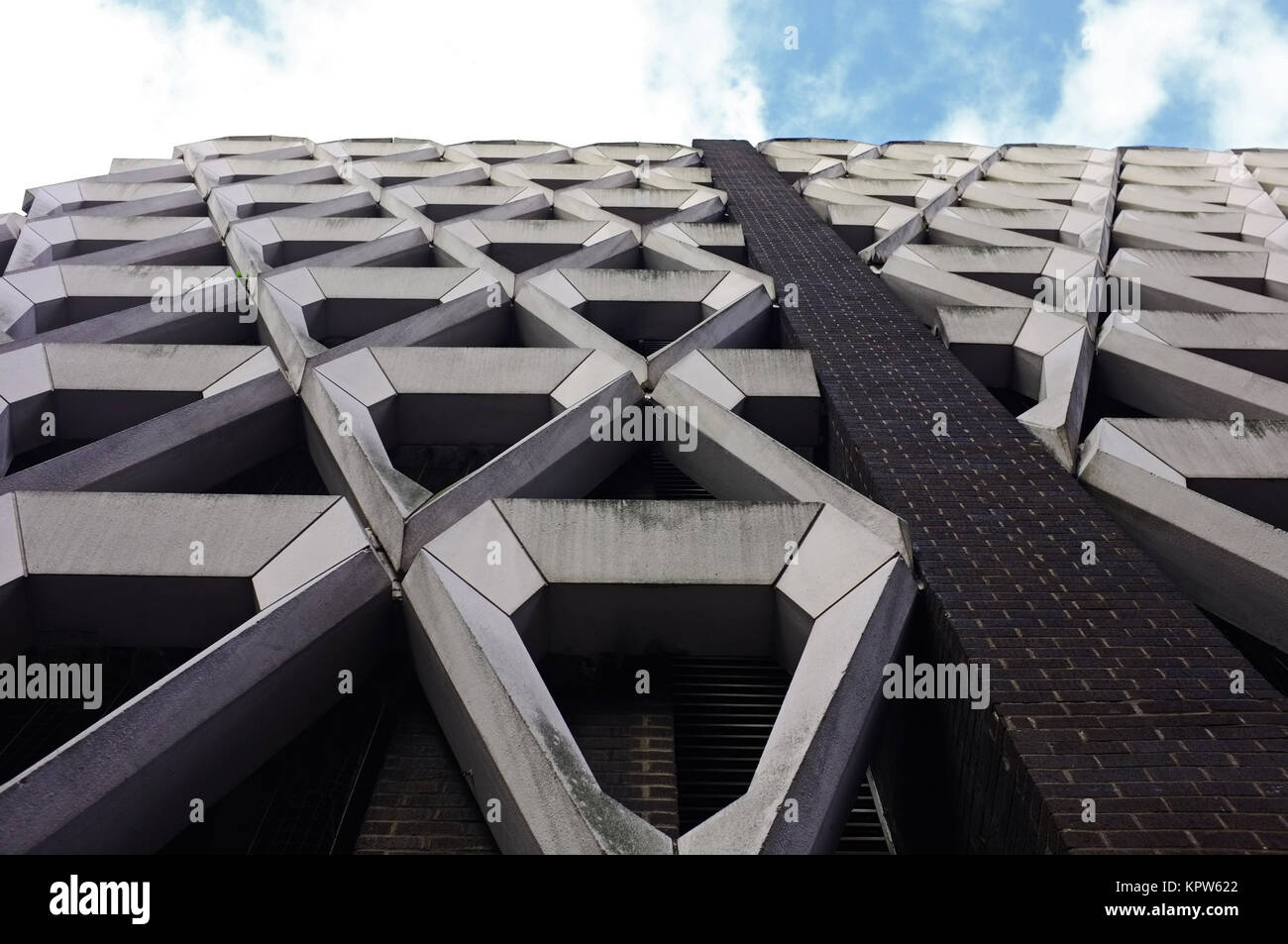 Welbeck Street car park, near Oxford Street, central London, United Kingdom - Stock Image