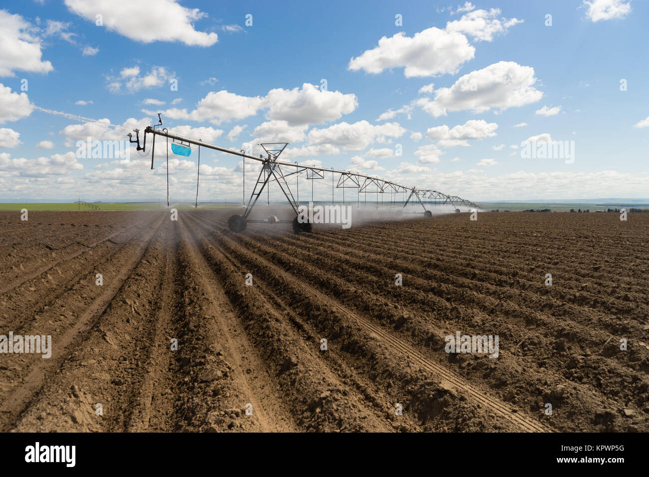 Farm Watering System Stock Photos & Farm Watering System ...