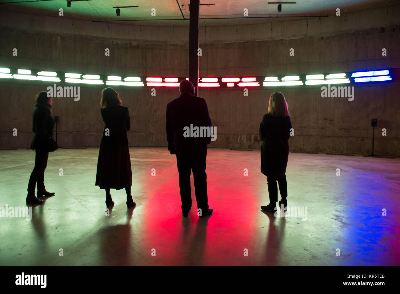 Tate Modern, London, UK. 18th Dec, 2017. The Way Earthly Things Are Going 2017, an immersive and multi-channel installation - Stock Image