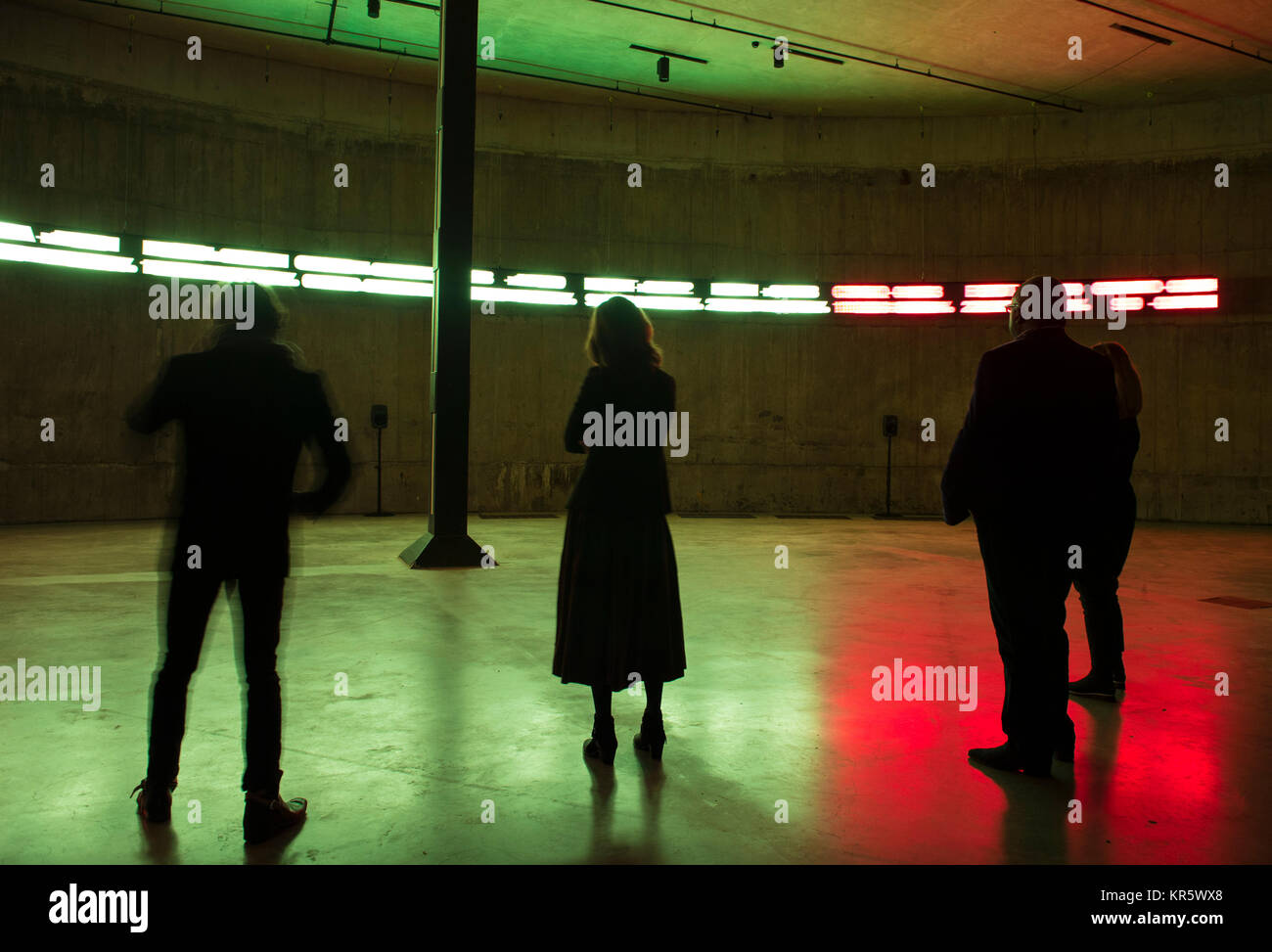 Tate Modern, London, UK. 18 December 2017. The Way Earthly Things Are Going 2017, an immersive and multi-channel - Stock Image