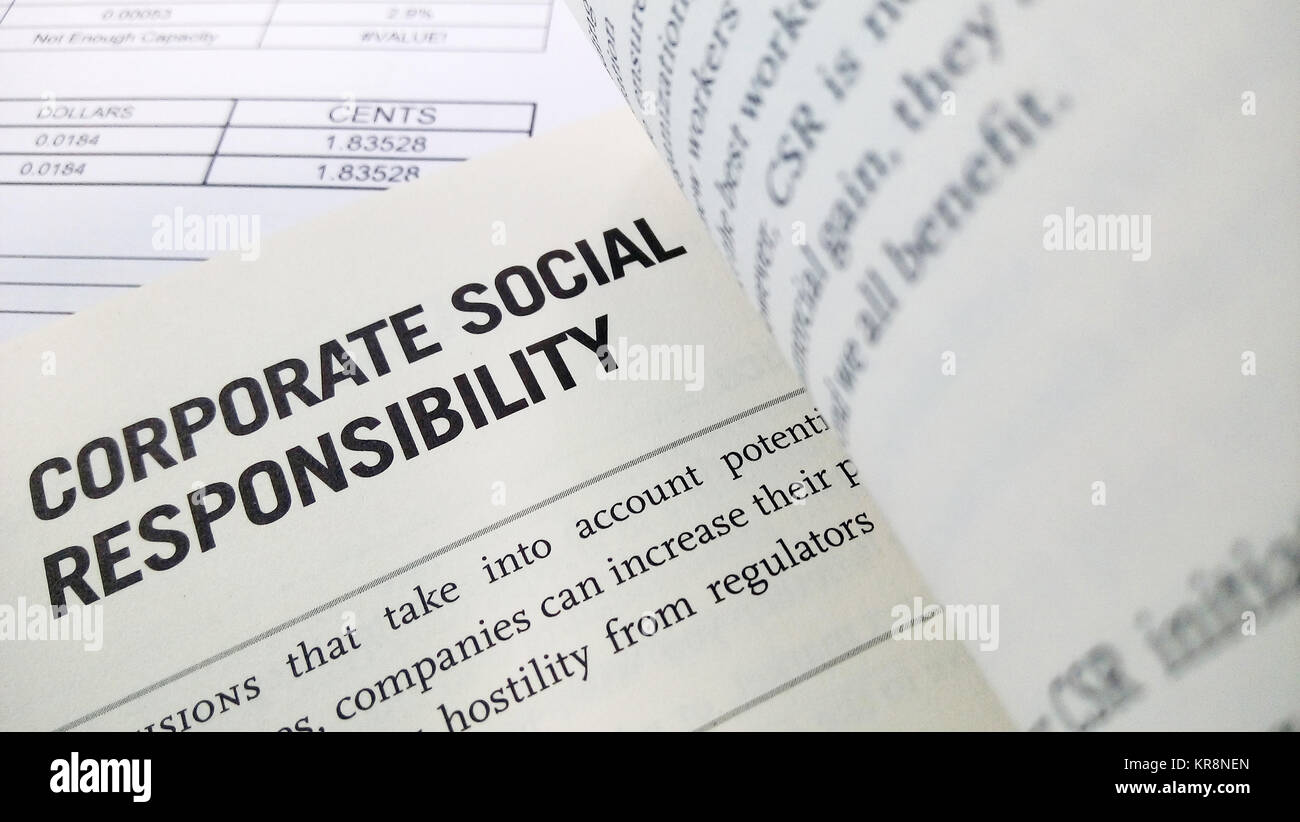 an analysis of the concepts of corporate social responsibility Corporate social responsibility - a case study of starbucks sr  in order to provide a focused analysis more or less all concepts within the public relations.
