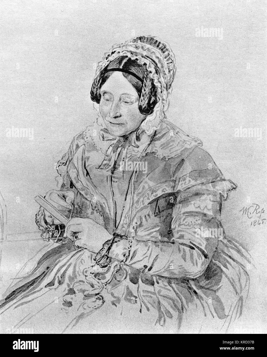 Princess Sophia (Sophia Matilda; 3 November 1777  27 May 1848), twelfth child and fifth daughter of King George - Stock Image