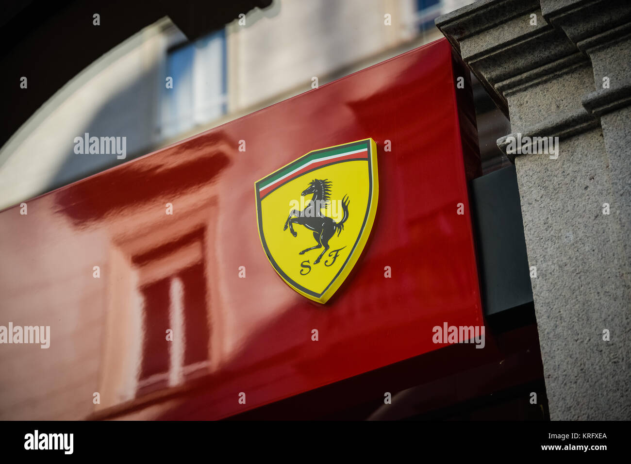 Ferrari clothing store usa