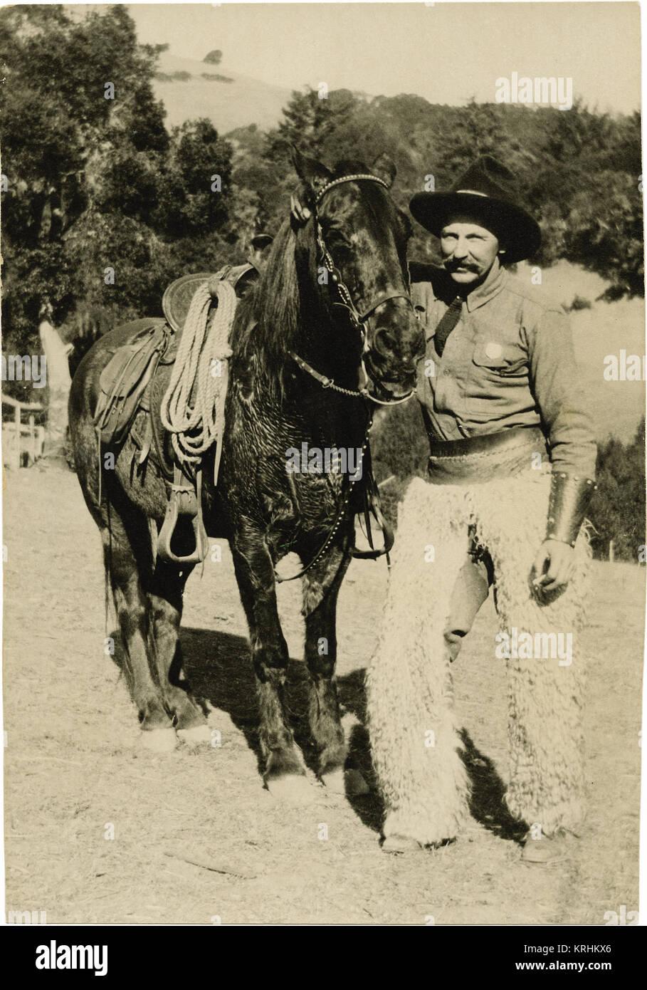 Movie Cowboy - Stock Image