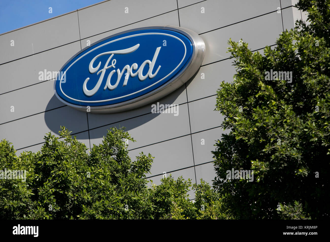 Ford motor company building stock photos ford motor for The ford motor company