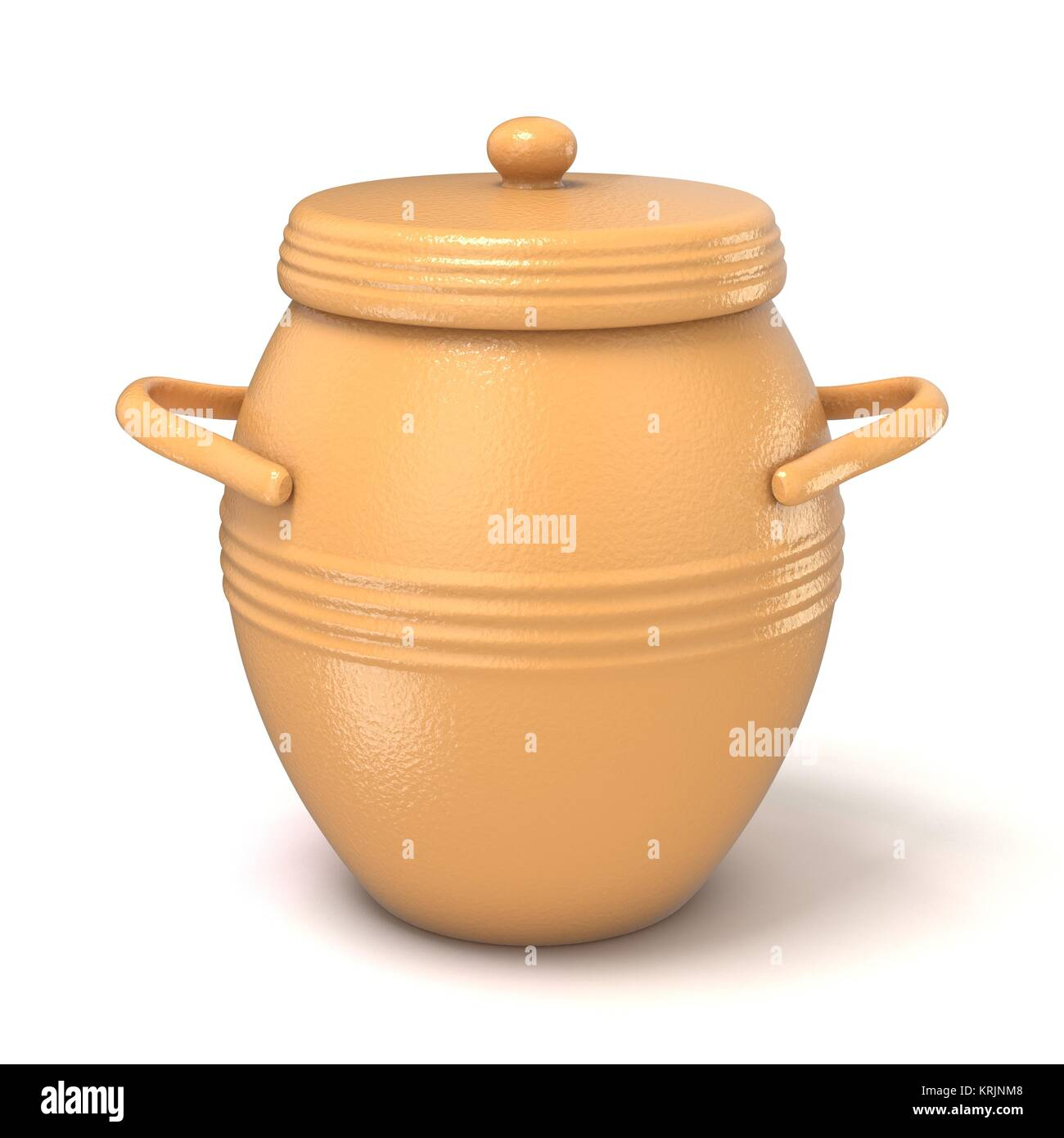 Cooking pot with handle