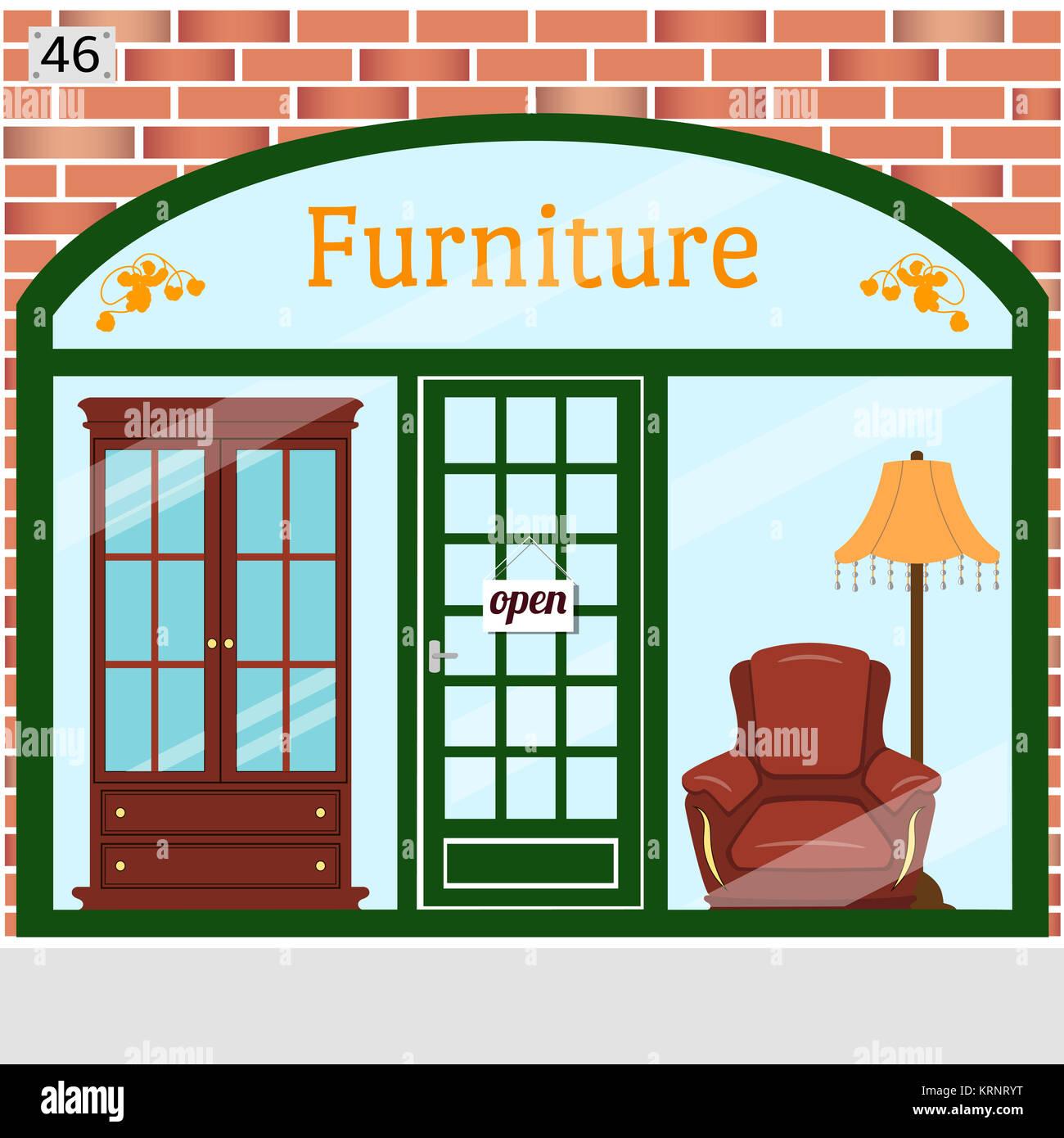 Ashley Furniture Plymouth Meeting Pa: Furniture Shop Interior Colour Stock Photos & Furniture