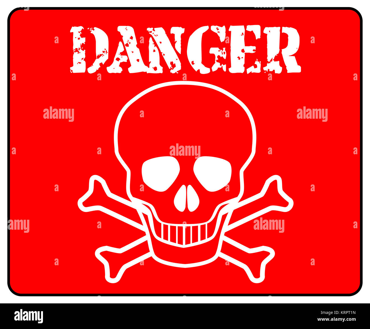 vector image red sign skull stock photos amp vector image
