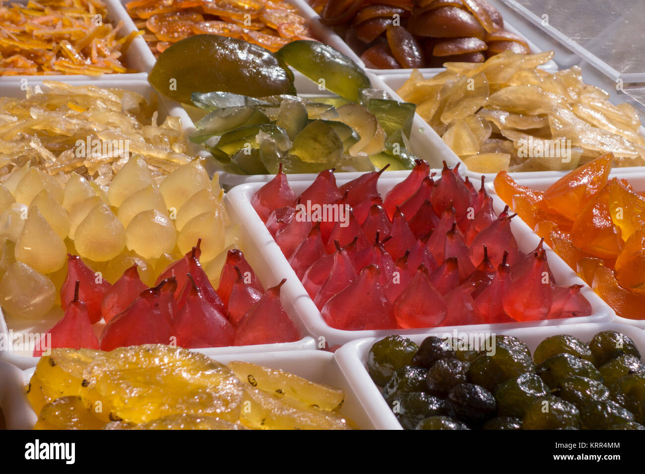 Mustard Fruits, Cours Saleya, Nice, Alpes Maritimes, Provence, French Riviera, Mediterranean, France, Europe, - Stock Image