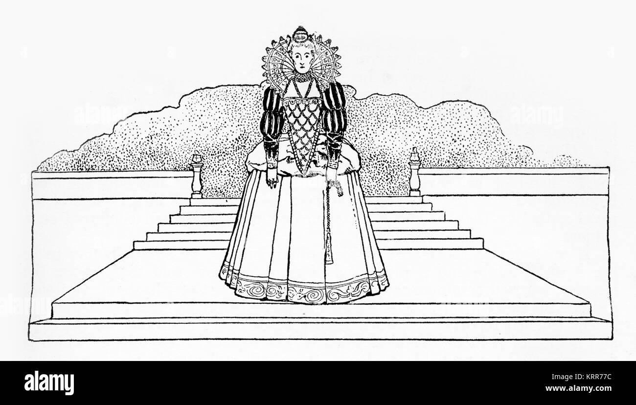 Queen Elizabeth Rhetorical Analysis of Tilbury Speech