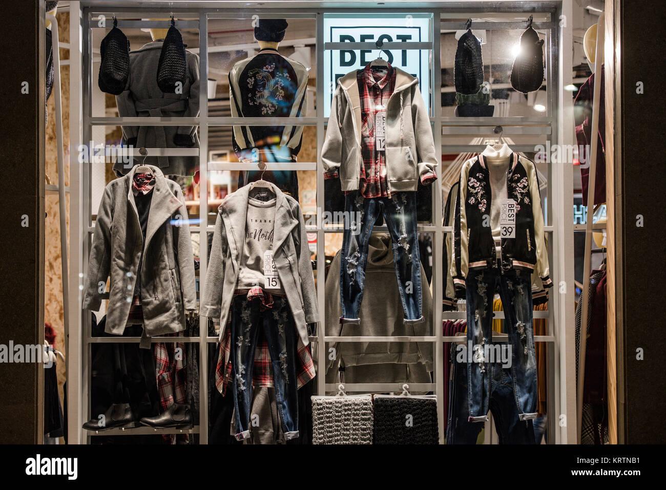 Urban clothing store gateway