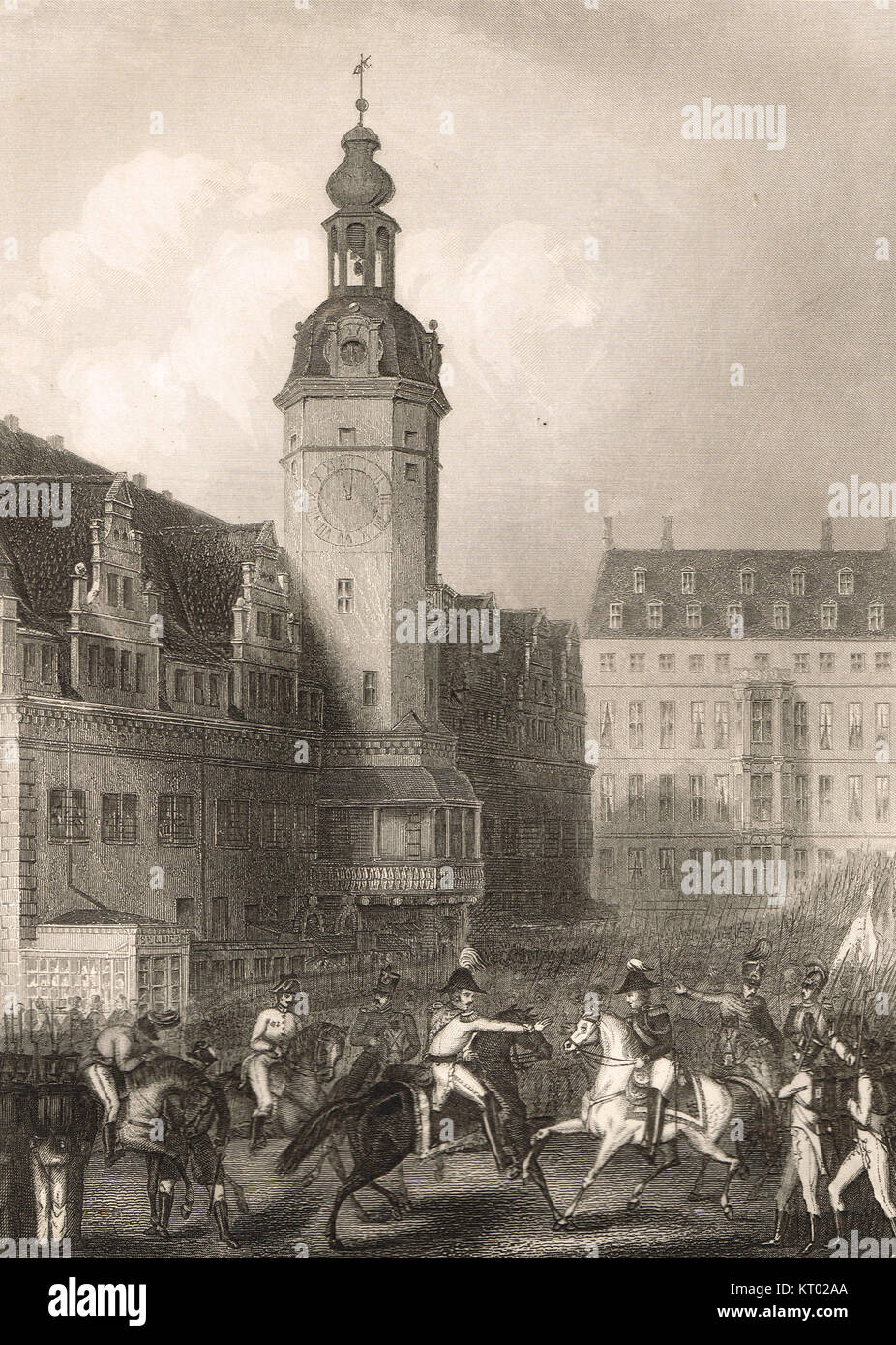 battle of leipzig The fact of the matter is that in october 1813, battle of the nations'  events in  and around the city of leipzig in saxony in this battle, and decided the fate of that .